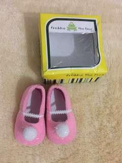 #IbuHebat Freddie The Frog Ple Walker Shoes Baby Girl 0-12 Month Size 5