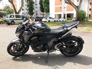 *urgent sale* Kawasaki z800 (price revised)