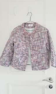 Tweed top, worn only twice
