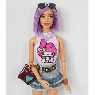 Barbie Fashionistas #18 rebodied