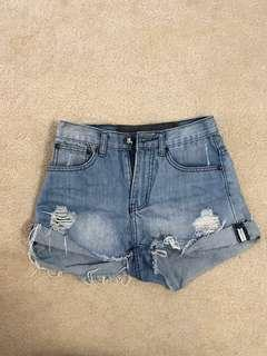 One Teaspoon High Wasted Shorts