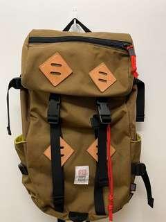 Topo Designs Klettersack Khaki backpack