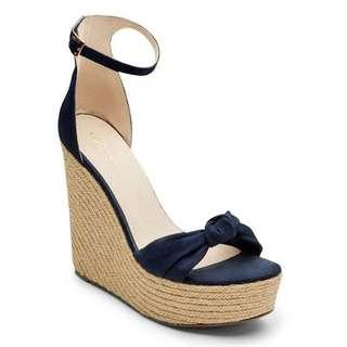 Kookai Bianca Wedges navy 38