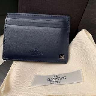 Valentino studded card holder 卡套