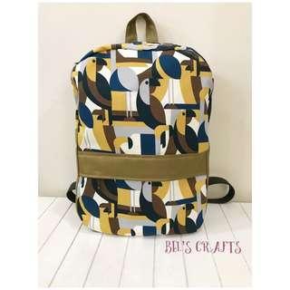 🚚 Handmade backpack