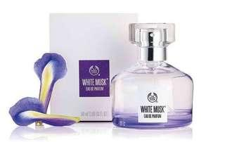 The Body Shop White Mush EDP 50ml (原價HKD359)