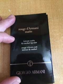 Giorgio Armani 唇膏試用