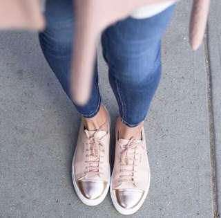 Price Reduced!! Axel Arigato - Cap Toe Sneakers in Nude Pink