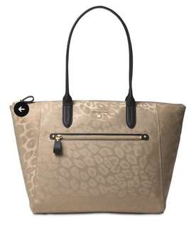 c99e9c31f020df Bnew Authentic MICHAEL MICHAEL KORS Kelsey Medium Nylon Tote Bag