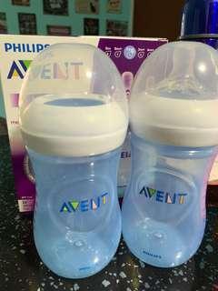 Avent Milk Bottles (260ml)