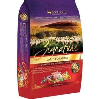 Zignature Dog Food Lamb