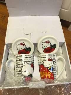 Hello Kitty 套裝杯