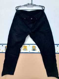 UNIQLO Men's Black Jeans/ BIG SIZE/ JUMBO