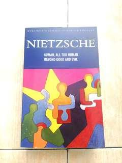 BRAND NEW (2 in 1!!) Nietchze's Human, all too human coupled with beyond good and evil