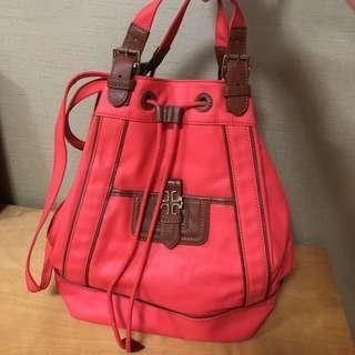 ORI Tory Burch Coral Backpack
