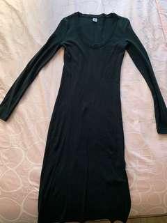 Petit bateau black dress