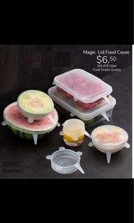 Magic lug food cover set