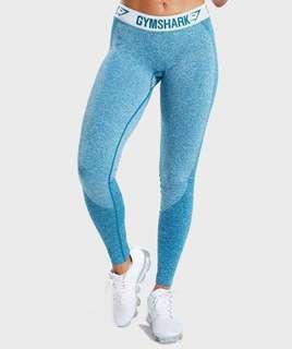 Gymshark Blue Flex Leggings