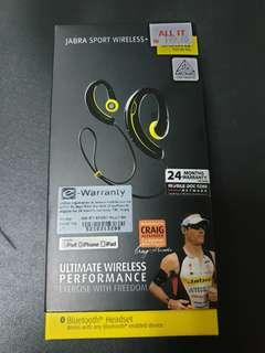 Bluetooth Earphone Jabra Sport + Stereo
