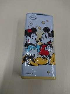 Disney Mickey Minnie Choco Crunch 鐵盒 收藏用
