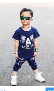 Set anak shine boy