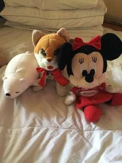 Branded stuffed toys