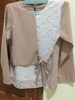 Semi formal blouse