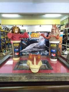 Star wars collection toys