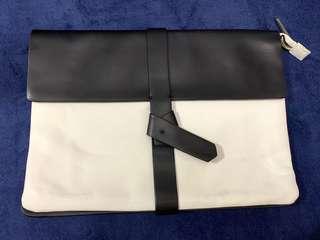 全新Zara 黑白clutch