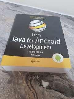 🚚 Learn Java for Android Development book