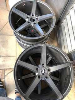 rim 18 inci, 9jj good condition