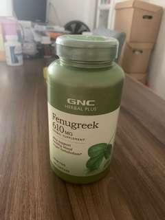 GNC Fenugreek - 200 capsules