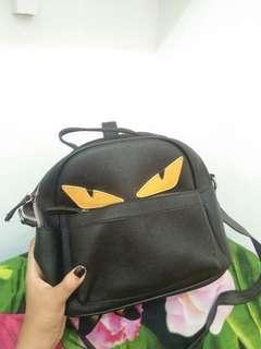 Tas Kecil backpack hitam