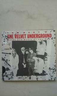 THE VELVET UNDERGROUND (the best of) CD ALBUM