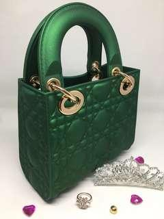 Green mini jelly bag