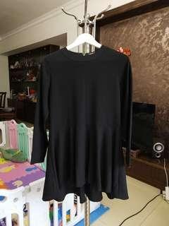 黑色裙s碼 9成新