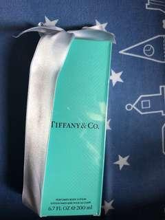 tiffany & co body lotion