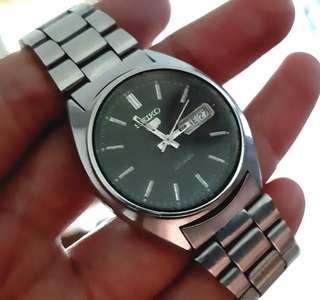 Seiko 6309 black dial antik