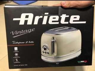 全新 Ariete 淺綠色多士爐