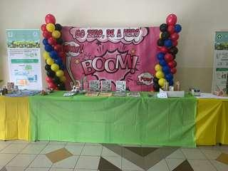 (PROMO) Backdrop Banner for events and Birthday functions
