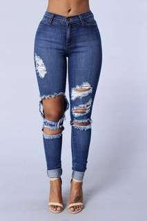 fashion nova beach bum denim jeans