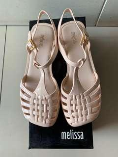 Melissa Jelly Shoes Possession Ad Pink