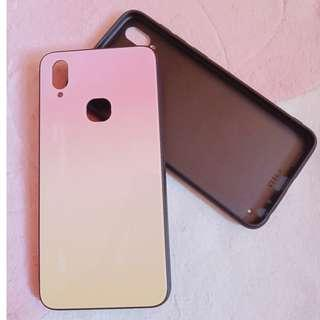 VIVO V11i Phone Case Gradient PINK YELLOW