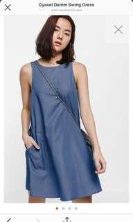 Gyasel Denim Swing Dress (Brand new with tag)