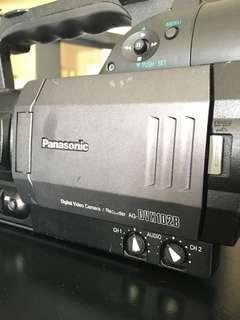 panasonic ag-dvx102b video camera