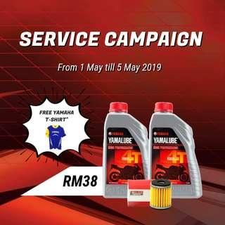 Yamalube Engine Oil | Service Campaign