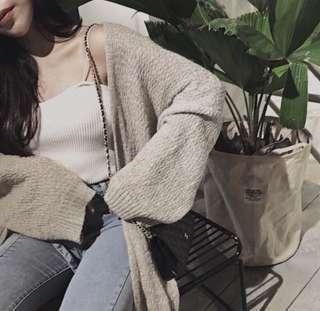 🚚 海馬毛寬袖罩衫❤️