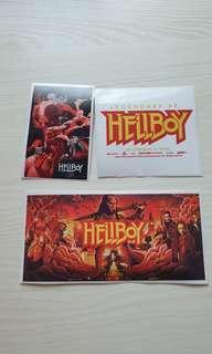 Hellboy 2019 movie decals stickers