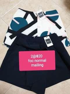 2@$20 - Brand New Osmose Shorts (Size M)