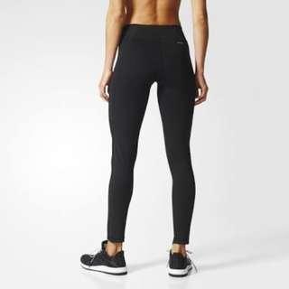 Adidas Long Gym Tights Leggings Black XS